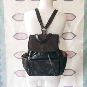 Vintage Italian Leather Jacques Raphael Backpack